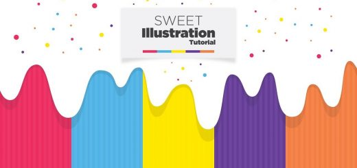 maxresdefault 32 2 520x245 - 甜美的图案设计Sweet Graphic Design in Illustrator - Adobe Illustrator Tutorial - Free Download