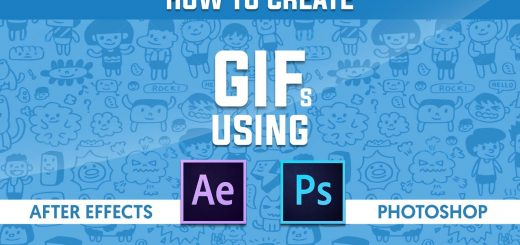 maxresdefault 5 3 520x245 - 如何创建动画gifHow to Create Animated GIF in After Effects and Photoshop