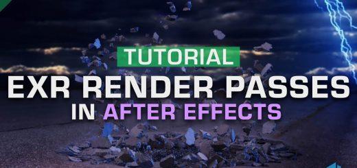 maxresdefault 6 9 520x245 - 如何在效果后使用OpenEXR渲染过程How to Use OpenEXR Render Passes  After Effects