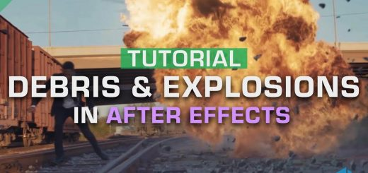maxresdefault 7 11 520x245 - 复合爆炸碎片vfx的5个步骤5 Steps to Composite Explosion  Debris VFX  After Effects Tutorial