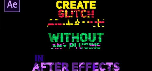 maxresdefault 7 3 520x245 - 惊人的故障动画Amazing Glitch Animation in After Effects - Complete After Effects Tutorial - No Third Party Plugin