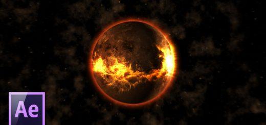 maxresdefault 7 7 520x245 - 行星爆炸Взрыв планеты в After Effects