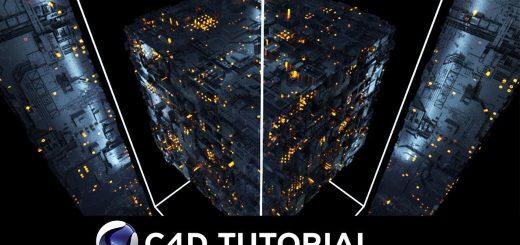 maxresdefault 9 11 520x245 - 创建科幻场景Cinema 4D Tutorial Create Sci-Fi Scene using Octane (Free Project File)