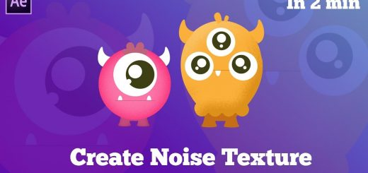 maxresdefault 9 6 520x245 - 创建噪波纹理的两个技巧2 TRICKS to Create Noise Texture in After Effects - After Effects Tutorial