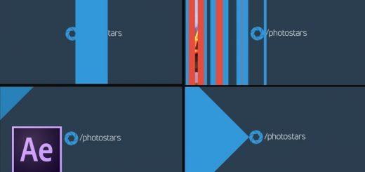 maxresdefault 9 8 520x245 - 创建飞溅屏幕Мини-курс «Анимированная графика для YouTube» Урок  - Создание заставки