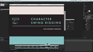 3 - 角色摆动索具Character Swing Rigging for After Effects Tutorial