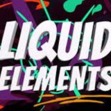 12 160x160 - 漂亮的液体元素模板
