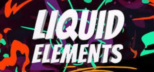 12 520x245 - 漂亮的液体元素模板