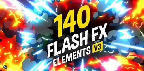 1517424804 500 500x245 - AE模板 140组二维卡通漫画风格动画特效工程包+带Alpha透明通道视频素材
