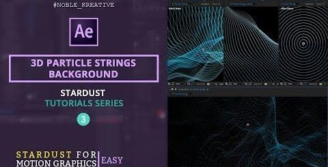 16b7cecdf3ca960e55a1ff7d58742b94 480x245 - 三维粒子串背景3D Particle Strings Background in AE   Easy