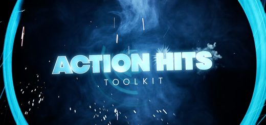 ActionHitsToolkitheader 520x245 - 【素材】Action Hits Toolkit:70多个免费动作合成元素