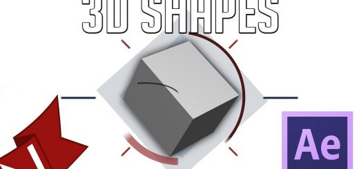 maxresdefault 10 2 520x245 - 创建不带光线跟踪运动图形的三维形状Create 3D Shapes without ray-trace  Motion Graphics After Effects Tutorial  Script