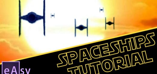 maxresdefault 11 520x245 - AE教程-星球大战宇宙飞船袭来Star Wars spaceships  After Effects tutorial