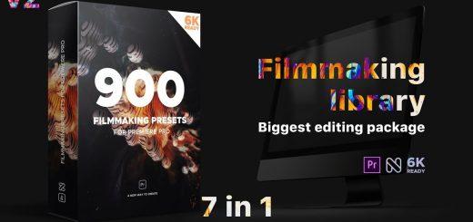 maxresdefault 2 1 520x245 - PR预设与工程能制作900种效果文字标题场景片头视频调色转场特效