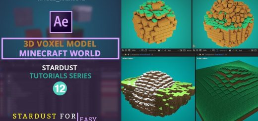 maxresdefault 29 1 520x245 - 三维体素模型,如Minecraft3D Voxel Model like Minecraft in AE  Easy