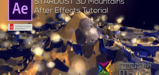 maxresdefault 35 520x245 - 星尘3D景观After Effects Tutorial - Stardust 3D Landscape