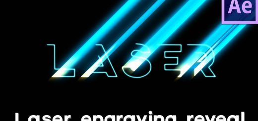 maxresdefault 47 520x245 - 燃烧激光雕刻标志文字展示Burning Laser Engraving Logo  Text Reveal  After Effects Tutorial