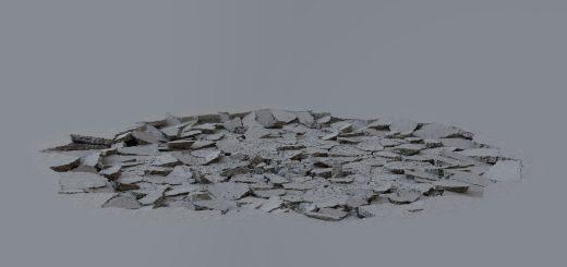 16个地面破碎裂开特效2K视频素材
