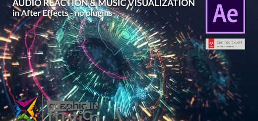 maxresdefault 6 1 520x245 - 音频反应可视化Audio Reaction  Visualization in After Effects - Tutorial - NO PLUGINS