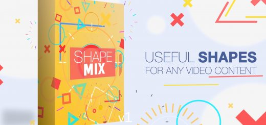 preview 88824 a419180311bc07924292d63d92a82646 high 520x245 - PR预设-100种时尚炫彩运动图形MG动画 Shape Mix