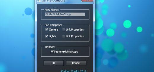 script ui 520x245 - 3D图层预合成脚本 VideoCopilot 3D Pre-Compose