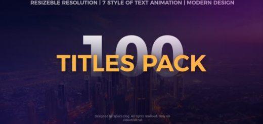 titles pack v2 520x245 - 100组文字标题动画2