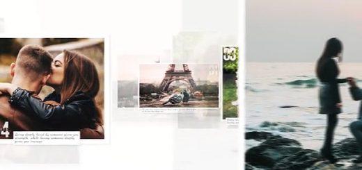 520x245 - AE模板-干净的幻灯片展示