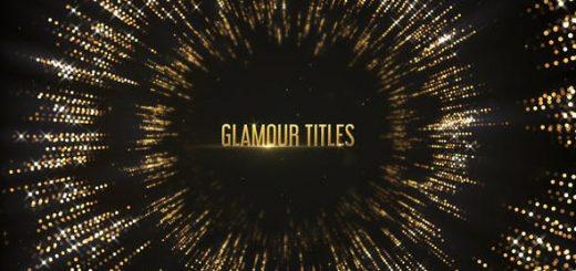 024 GlamourTitles 520x245 - AE模板-魅力光线标题