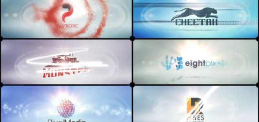 Clean Logo V01 Speed Reveals Preview IMG 520x245 - AE模板-干净的徽标V01速度揭晓