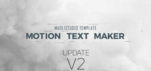 PreviewV2 520x245 - AE模板-创意数字失真高科技文字标题字幕动画