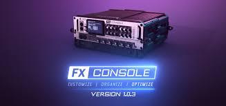 FXConsole V1.0.1