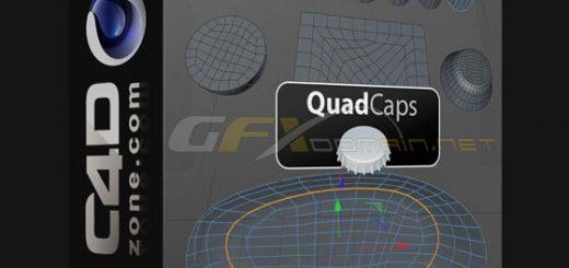 C4DZone Quad Caps