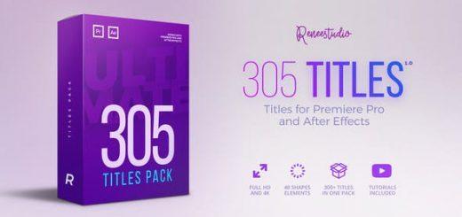 x1920 520x245 - PR预设+AE模板:305种多类型文字标题介绍动画终极包