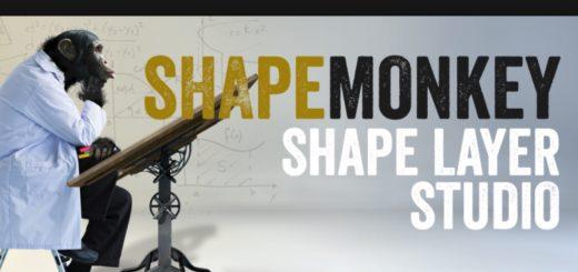 Aescripts ShapeMonkey Full crack 520x245 - AE脚本-MG图形变化动画工具 ShapeMonkey 1.02 + 视频教程