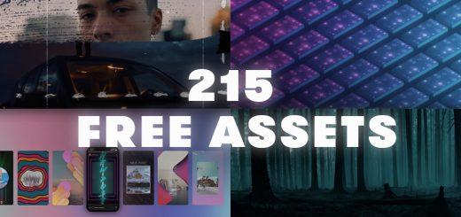 Free Roundup 520x245 - 215个自由运动图形,声音纹理,社交设计等