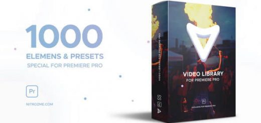 PR Video Library 520x245 - PR模板1000种视觉特效栏目包装动画Video Library