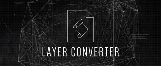 layerconverterlogo 1 520x215 - AE脚本-将图层快速转换成灯光层或空物体层 Layer Converter v1.1